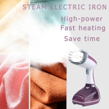 200Ml Handheld Fabric Steamer Fast-Heat 1000W Powerful Garment Steamer for Home Travelling Portable Steam Iron(Eu Plug) new mini handheld fabric steamer 15 seconds fast heat 1500w powerful garment steamer for home travelling portable steam iron e