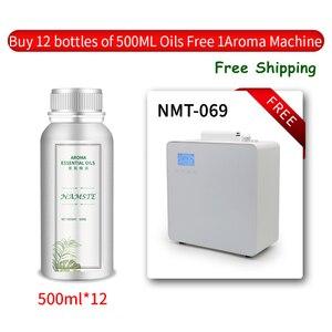 Image 3 - NMT 069 500ML diffuseur de parfum Machine ioniseur dair diffuseur dhuile essentielle parfum purificateur dair pour les centres commerciaux à la maison hôtels