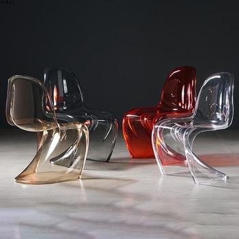 Transparent Modern Chair 1