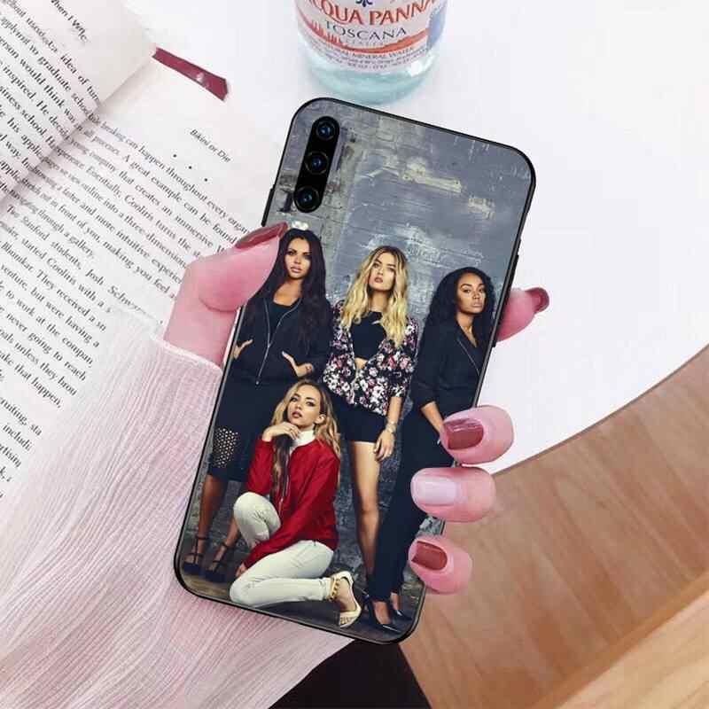 PENGHUWAN Poco Mix Perrie Jesy Leigh Giada TPU nero Copertura Della Cassa Del Telefono per Huawei P30 P20 Compagno di 20 Pro Lite smart Y9 prime 2019
