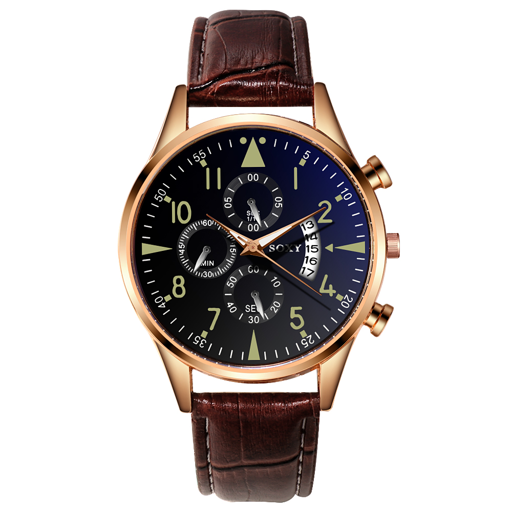 H91c0739c9fc74ea8a8c2dfc62e50176ef Mens Watch SOXY  Classic Gold