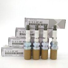 6pcs BKR6EQUP 12120037607 Spark Plug for BMW E60 M54 M62 Z3 E34 E36 E38 E39 E46 Laser Platinum Car Candle BKR6EQUP 3199