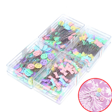 50pcs/Set Patchwork Needle Craft Flower Button Head Pins Embroidery Pins Sewing Needle For DIY Quilting Tool Sewing Accessories
