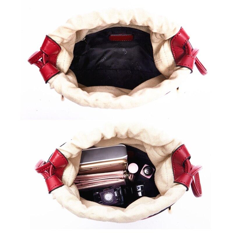 BISONJS роскошные сумки женские сумки дизайнерские сумки из воловьей кожи для женщин 2020 модная сумка на плечо с вышивкой B1606