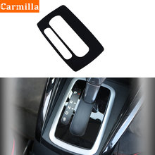 Carmilla PVC Car Gear Shift Knob Panel Cover Gears Trim Sticker for Ford Ecosport 2018 2019 2020 AT LHD Accessories
