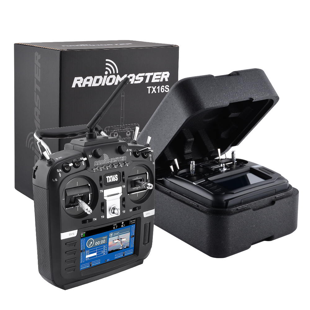New RadioMaster TX16S Hall TBS Sensor Gimbals 2.4G 16CH Multi-protocol RF System OpenTX Transmitter Remote Control For RC Drone
