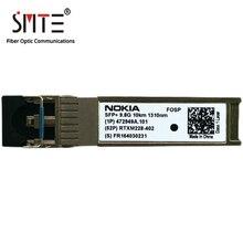נוקיה RTXM228 402 472949A.101 10G 1310nm 10KM FOSP LC מצב יחיד SFP + סיבים אופטי מודול משדר