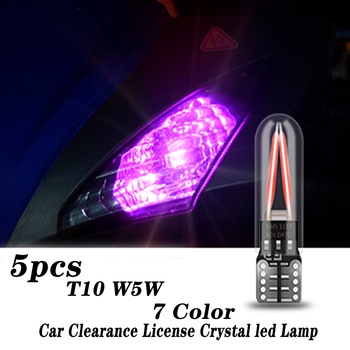 2PCS Crystal Eye Car Interior T10 Led Headlights Lamp For Volkswagen VW Polo Passat B5 B6 CC Golf 4 5 6 7 Touran T5 Tiguan Bora image