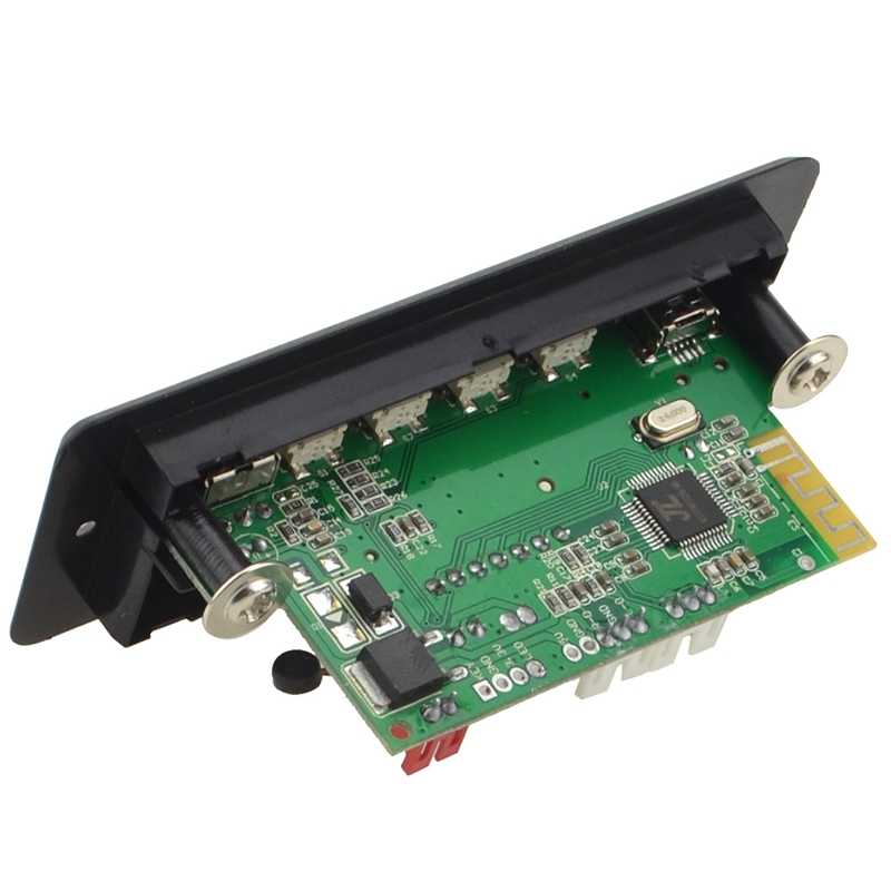 רכב דיבורית שיחת Bluetooth Mp3 מפענח לוח Aux אודיו רדיו Bluetooth מודול