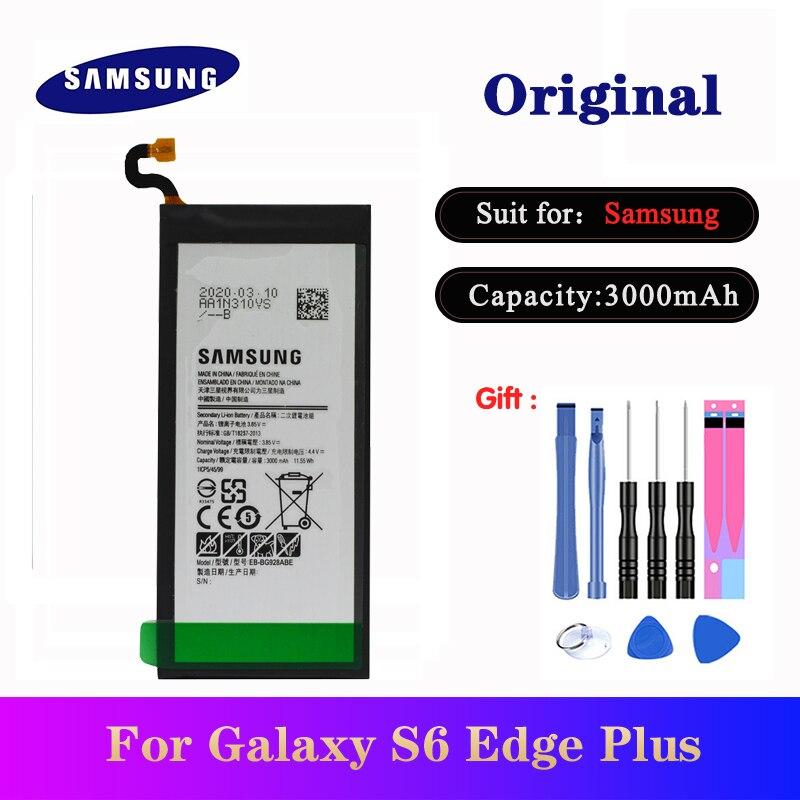 Battery EB-BG928ABE For Samsung Galaxy S6 Edge Plus G928 G928F G928G G928T G928A G928I G928S Phone Original Batteries 3000mAh
