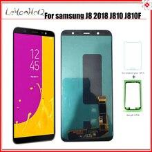 OLED J8 2018 J810 ЖК дисплей для Samsung Galaxy J8 2018 J810 J810F J810Y J810G ЖК дисплей сенсорный экран дигитайзер сборка