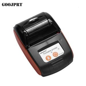 Image 4 - GOOJPRT PT210 Мини карманный беспроводной принтер, термопринтер чеков, Bluetooth, Android, iOS, поддержка телефона ESC / POS