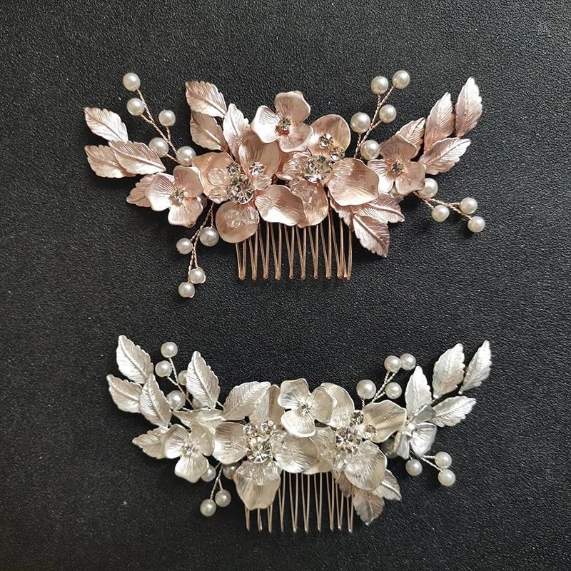 rhinestones hair comb wedding head piece crystals comb bridal headpiece wedding bridal hair comb Flowers rhinestones crystals comb