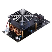 ZVS DIY Induction Heating Board Electronic Durable Board Low Voltage Module Plate With Stable High Frequency Coil 1000w zvs low voltage induction heating board module flyback heater brass coil induction heating module