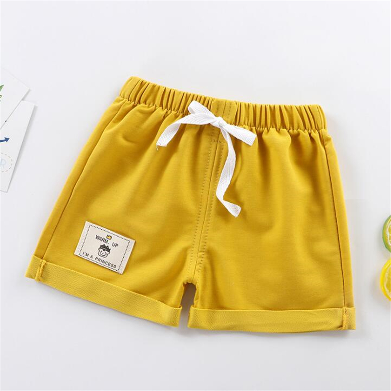 Детские однотонные шорты для мальчиков, размеры от 12 месяцев до 5 лет