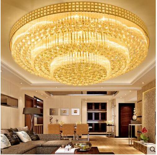 Modern Crystal Led Ceiling Lights Children's Bedroom Led Ceiling Lamps for Living Room Kitchen Home Lighting Fixtures lustre