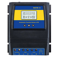 RISE Automatic ATS Dual Power Transfer Switch Solar Charge Controller for Solar Wind System DC 12V 24V 48V AC 110V 220V On/Off G