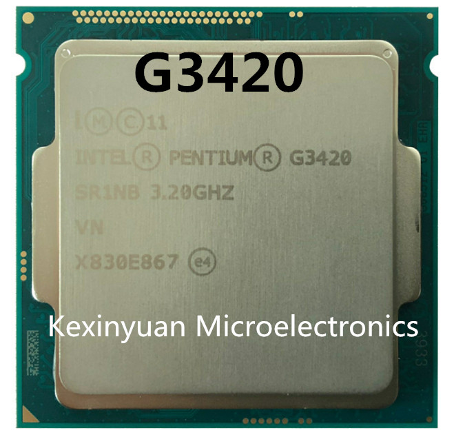 Intel Processor Processor G3420 LGA1150 22 Nanometers Dual-Core 100% Working Properly Desktop Processor