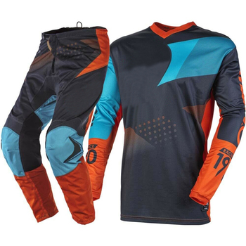 2020 Motocross komplet garniturów ATV Dirt Bike wyścig Off-Road biegów spodnie i koszulka jersey Combo MX wyścigowy zestaw wyścigi motocyklowe sprzęt tanie i dobre opinie FLY GP PRO Mężczyźni Kombinacje Motocross MX 100 poliester