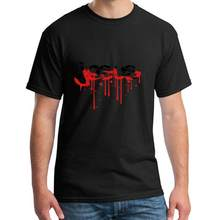 Hilarious blood scratch scratches graffiti drops tattoo lett t shirt tee male female XXXL 4Xl 5XL cool natural(China)