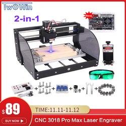 CNC 3018 Pro Max Laser Stecher GRBL DIY 3 Achse PBC Fräsen Laser Gravur Maschine Holz Router Upgrade 3018 pro mit Offline