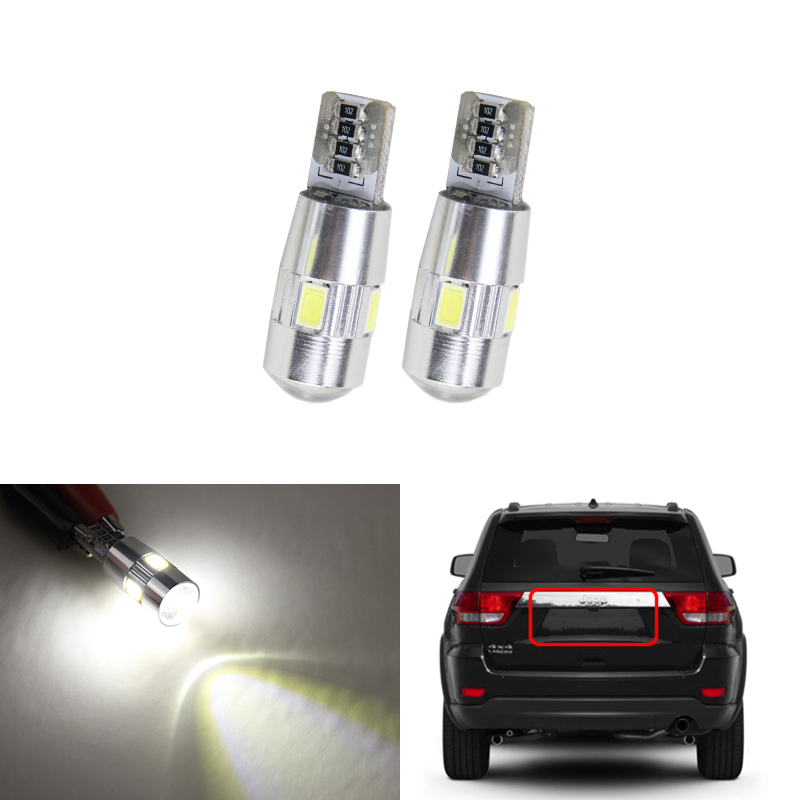 1x Smart City-Coupe Bright Xenon White LED Number Plate Upgrade Light Bulb
