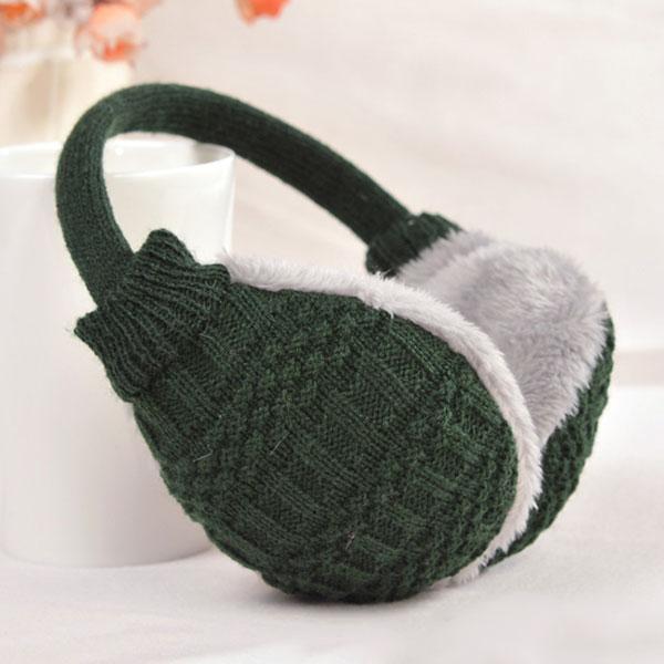 New Style Fashion New Winter Warm Knitted Earmuffs Ear Warmers Women Girls Ear Muffs Earlap Warmer Headband