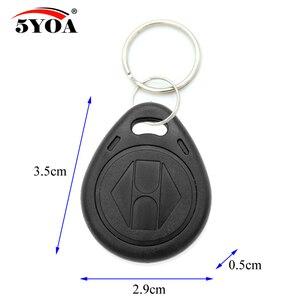 Image 4 - 50pcs/lot EM4305 T5577 125khz Copy Rewritable Writable Rewrite keyfobs RFID Tag Key Ring Card Proximity Token Badge Duplicate