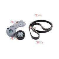For VW Touareg Audi Q7 Belt Tensioner Serpentine Drive Belt & Tensioner Pulley 022 145 933 P / 299 E