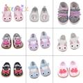 Аксессуары для куклы 15 видов стилей 7 см Kitty парусиновая обувь с бантом для 43 см для ухода за ребенком для мам, новинка, комплект одежды для но...