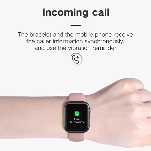 LEMFO Bluetooth smartwatch -> 44MM Replace Strap -> Heart Rate -> Blood Pressure smart watch