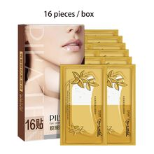 16 Pcs/box Collagen Neck Mask Moisturizing Hydrating Lifting Fade Necklines Soothing Nourishing Skin Care Supplies moistfull collagen