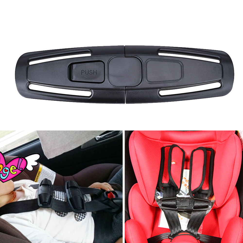 Baby Child Kid Car Safety Seat Belt Strap Lock Buckle Latch Chest Harness Clip