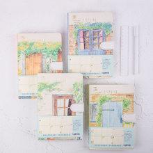 Livro de mão criativo cor borda livro cópia dura pequeno fresco engrossado estudante cor página livro caderno