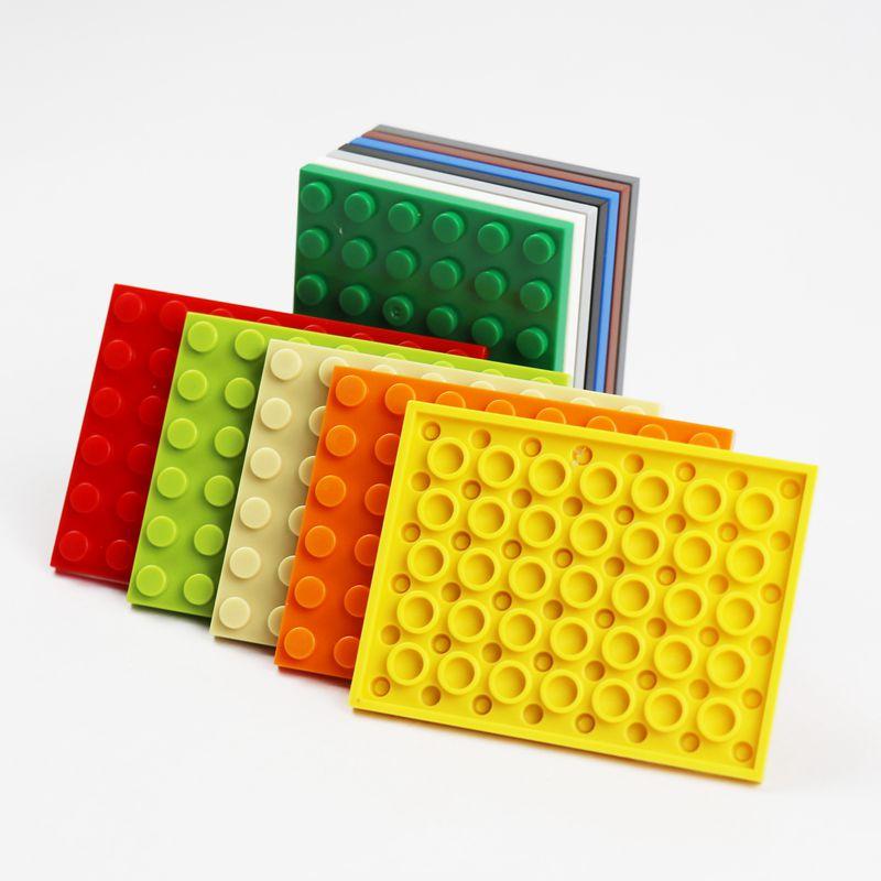 Lego Plate 6 x 10 Parts Pieces Lot Building Blocks ALL COLORS