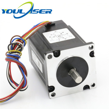 Leadshine 3 Phase Stepper Motor 573S15 for Laser Engraving Cutting Machine  NEMA 23 Stepper Motor