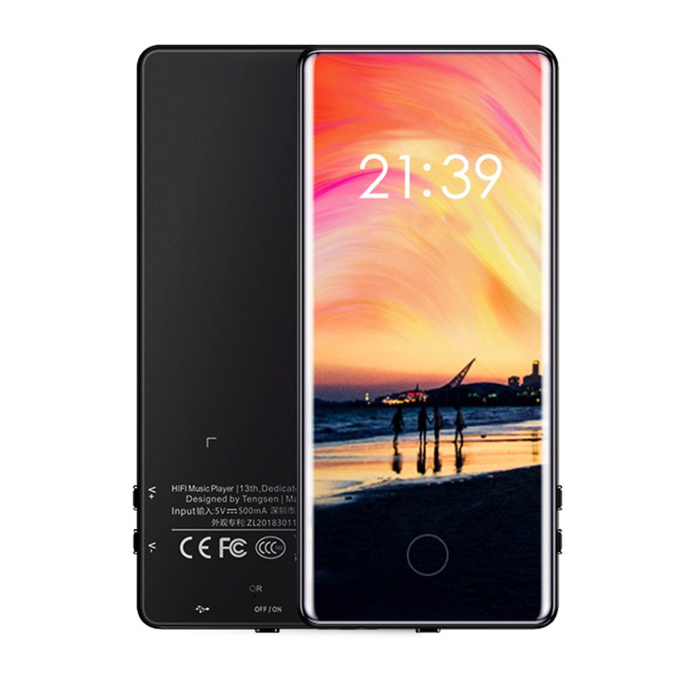 C18 Full Screen Touch Mp5 Walkman Student Mp4 Lossless Sound Quality Mp3 Ultra-Thin Mp6 Convenient Walkman