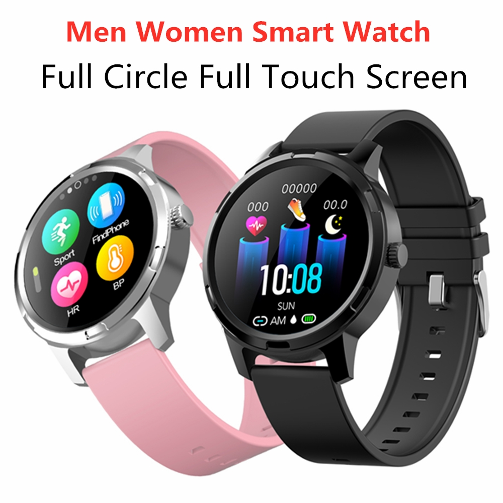 Full Touch Screen Smart Watch For Apple ios Android Phone Sleep Heart Rate Monitor Waterproof Sports Health Smartwatch Women Men