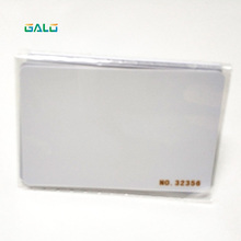 UHF PVC white cards with frequency 860~960MHz for long distance UHF reader with series number(250 pieces)