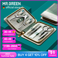 MR.GREEN Manicure Set Pedicure Sets Nail Clipper Stainless Steel Professional Nail Cutter Tools with Travel Case Kit