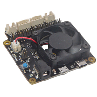 New X735 V2.0 Power Management Board Temperature Control Fan For Raspberry Pi 4 3B+