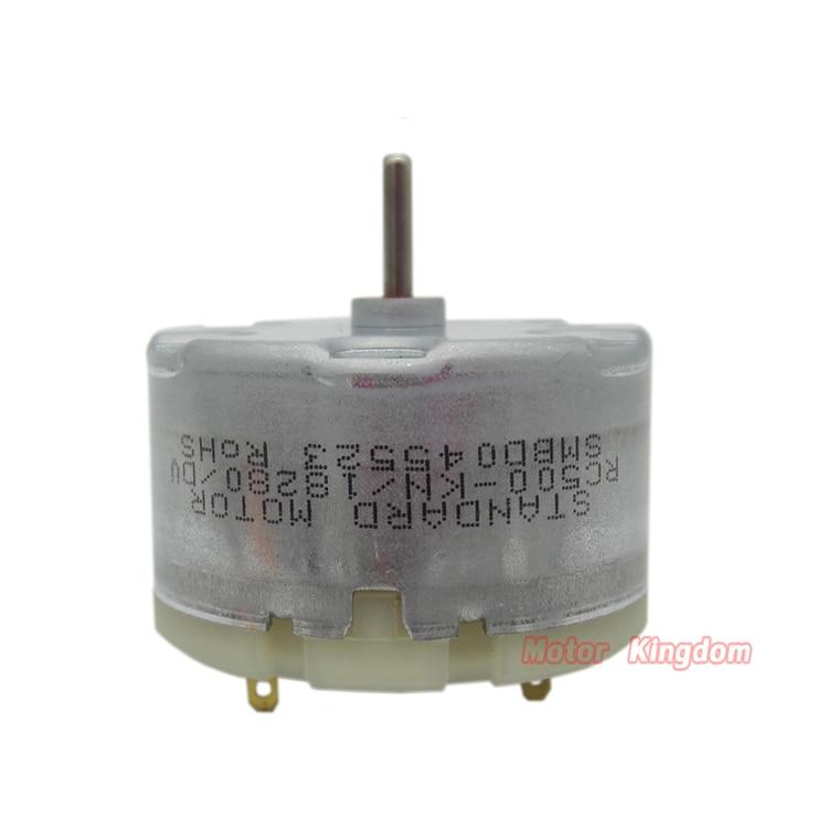 Standard RF500TB-18280  Perfumer Humidifier  DC Motor  6V 5400RPM Mini RF-500 Micro 32mm Round Motor