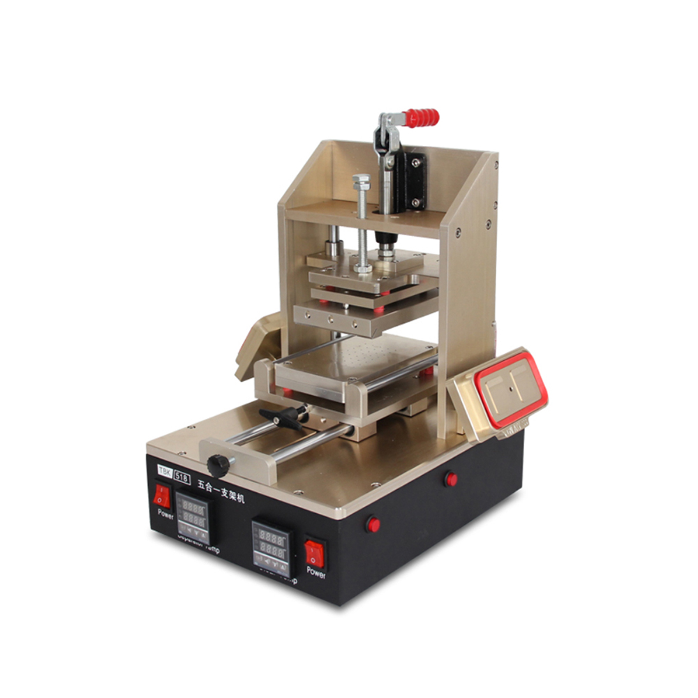 Unthinkable Upgrade TBK-518 Glue Remover Bracket Machine Mobile Phone Screen Separator Five In One Support Machine 5in1 LCD