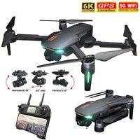 2021 nuovo GD91Max Drone 6k GPS 5G WiFi 3 assi Gimbal Camera Brushless Motor supporta 32G TF Card Flight 28 min VS F11 PRO Drones