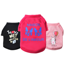 New Style Pet Dogs Hoodies Warm Dog Sweatshirt Cute Cartoon Chihuahua Sweater Fashion Coat Cotton Clothes Clothing For