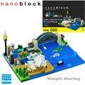 Новый NBM-020 Nanoblock Sydney Harbor строительные блоки игрушка 530 штук креативная архитектура мини кирпичи уровень сложности 5