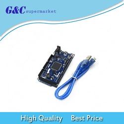 Стандартная плата DUE R3 SAM3X8E, 32-битная рукоятка, Cortex-M3 Модуль платы управления + USB-кабель для Arduino, электроника «сделай сам»