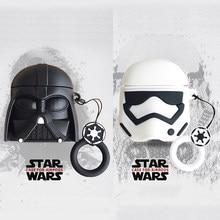 Disney starwars airpods caso silicone darth vader imperial stormtrooper anime capa para iphone fones de ouvido airpods pro 2 1
