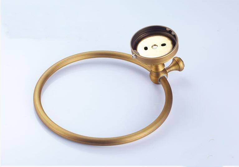 Евро стиль крепление Wal антик бронза полотенце кольцо классика ванная комната аксессуары ванна полотенце держатель ванна оборудование