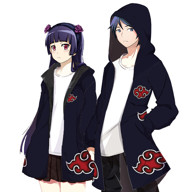 Akatsuki Hooded Thicken Hoodies